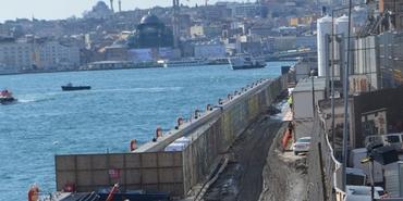 Galataport'ta restorasyon kapsamına giren tescilli yapılar