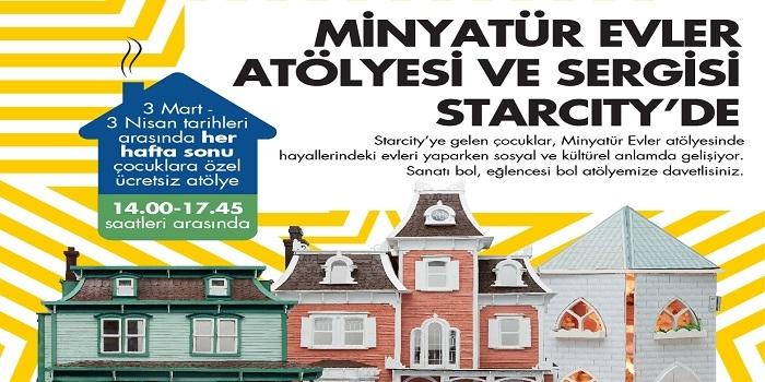 """""""Minyatür Yaşamlar"""" Bebek Evleri Sergisi ziyarete açıldı"""