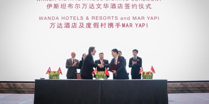 Mar Yapı, Çinli Wanda Group ile Stratejik İşbirliği Anlaşması imzaladı