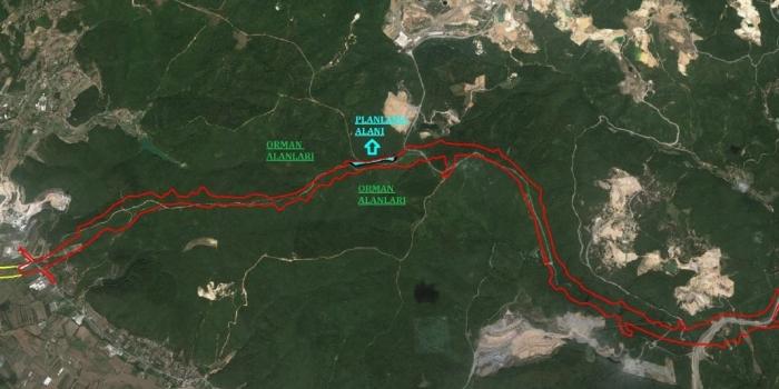 Kuzey Marmara Otoyolu Hüseyinli-Şile imar planı askıya çıkarıldı