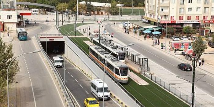 Gaziantep'e metro hattı geliyor