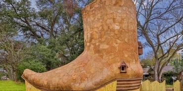 Dünyanın en ilginç evi: Kovboy Çizmesi