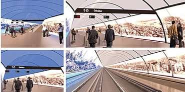 Kabataş Üsküdar Yaya Tüneli inşaatı ihaleye çıkıyor