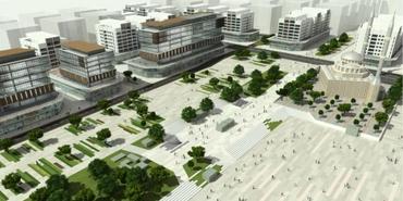 Bağcılar Meydanı Kentsel Dönüşüm Alanı uygulama imar planı askıda