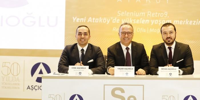 Aşçıoğlu'ndan Ataköy'e üçüncü proje: Selenium Retro 9