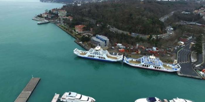 İstinye-Çubuklu feribot hattı İstanbul trafiğini rahatlatacak
