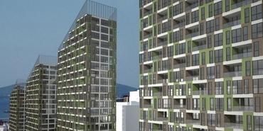 Sur Yapı Yeşil Mavi Maltepe Başıbüyük'te yükseliyor