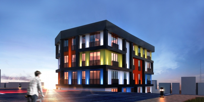 Pixell Prime projesine ünlü ressam Mondrian ilham verdi
