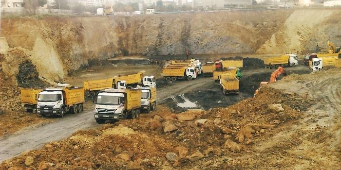 İstanbul'un hafriyat kapasitesi doldu