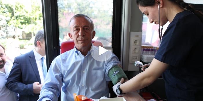 Ağaoğlu'ndan kan bağışı kampanyası