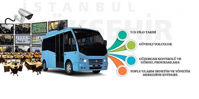 İstanbul'da minibüslere kamera ve panik butonu geliyor