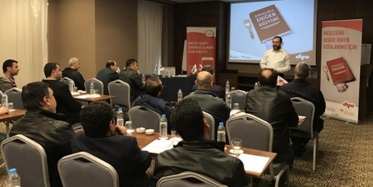 DYO'nun 'Ustalığa Değer' projesi  İstanbul'a ulaştı