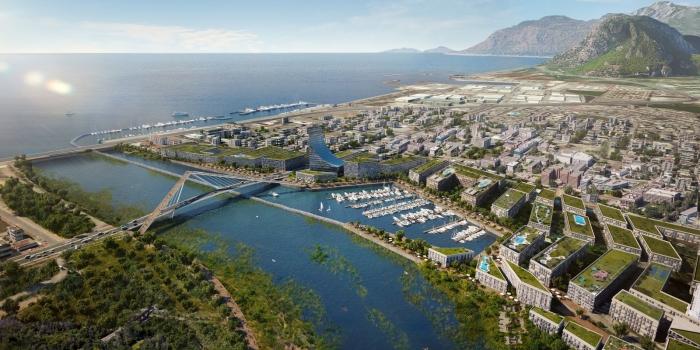 Kanal İstanbul'un Marmara çıkışına yapay ada ve kruvaziyer limanı yapılacak
