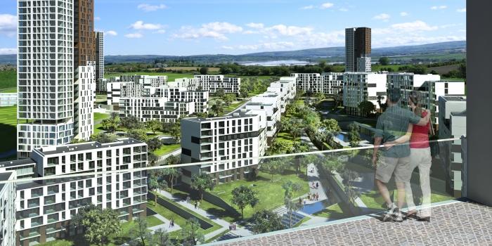 Emlak konut kayaşehir yeni proje