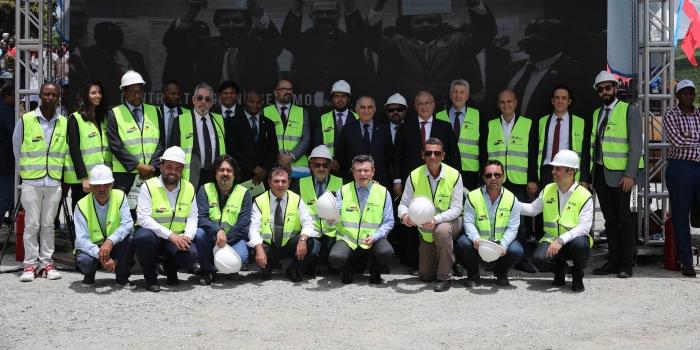 Doğu Afrika'nın en hızlı trenini Türkler inşa ediyor
