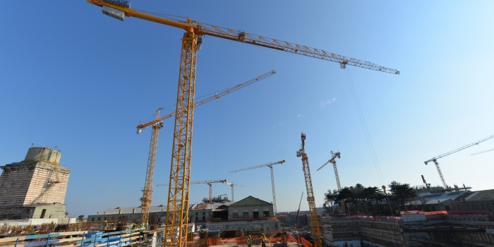 Büyükyalı Projesi'nde POTAIN Kule vinçlerden yararlanılacak