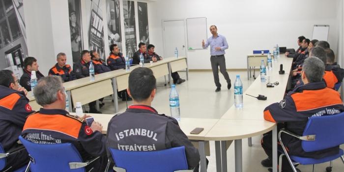 Otis Türkiye'den itfaiye ekiplerine eğitim desteği