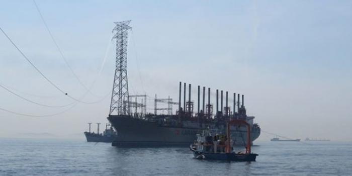Marmaray'ın yarattığı elektrik kesintilerine yüzen santral çözümü