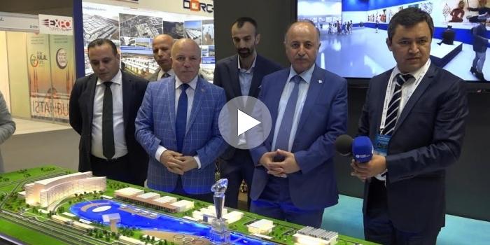 Erzurum Katar'da Gökyüzü Şehri projesini tanıttı