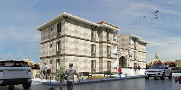 Toki Nevşehir Avanos'a yöresel mimaride 324 konut yapacak
