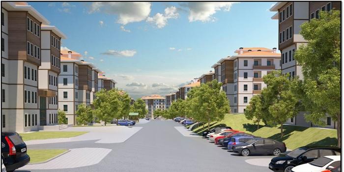 Toki Elazığ'da emeklilere 363 konut inşa edecek