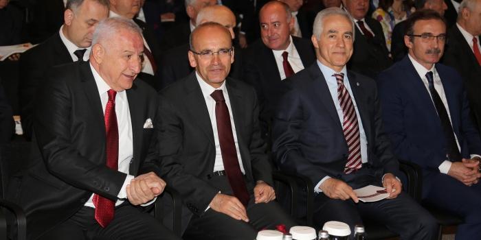 Başbakan Yardımcısı Şimşek: Müteahhitlere uluslararası alanda desteğimiz sürecek