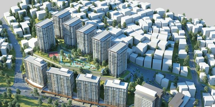Toki kentsel dönüşüm projeleri istanbul