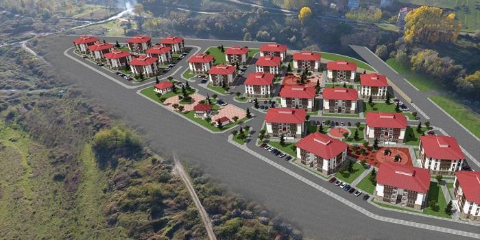 Toki'den Zonguldak Çaycuma'ya 380 konut