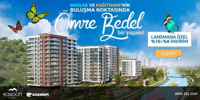 Ege Yapı'dan Kordon İstanbul'da lansmana özel fırsatlar