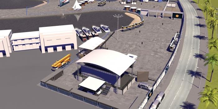 Türkiye'nin en büyük açık hava konser alanı Tuzla'da açılıyor