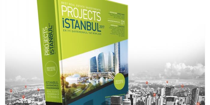 İstanbul'un markalı projelerini buluşturan katalog: Projects İstanbul 2017