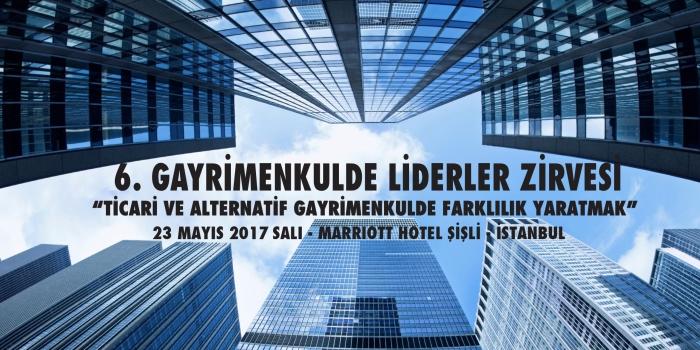 Gayrimenkulde Liderler Zirvesi 23 Mayıs'ta toplanıyor