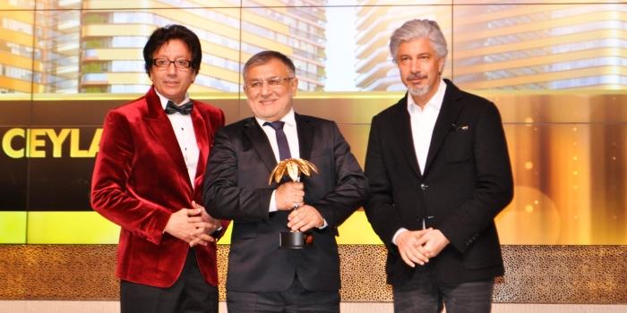 Yılın İnşaat Projesi Ödülü Ceylan İnşaat'ın