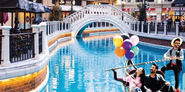 Venedik'te alışverişe ne dersiniz?