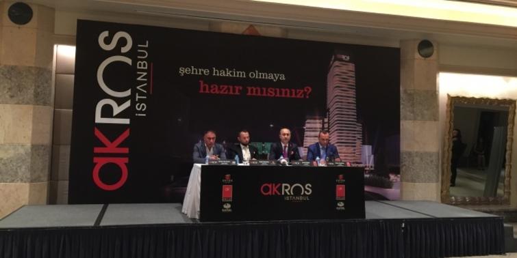 Bölgenin en yüksek binası Akros İstanbul olacak