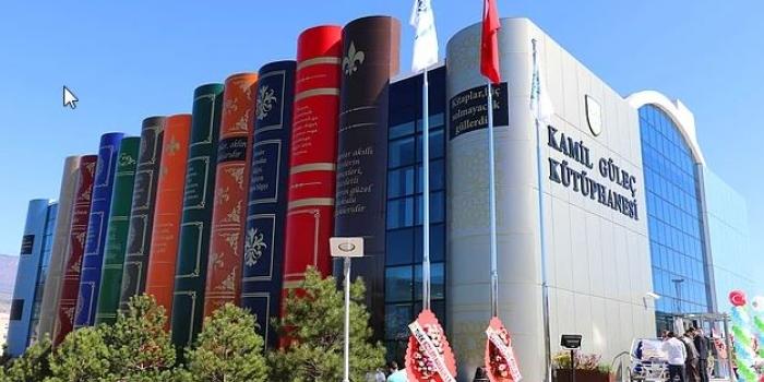 Kitap Görünümlü Kütüphane: Karabük Kamil Güleç Kütüphanesi