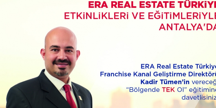 ERA Gayrimenkul, Antalya Franchise Expo Eurasia Fuarı'nda