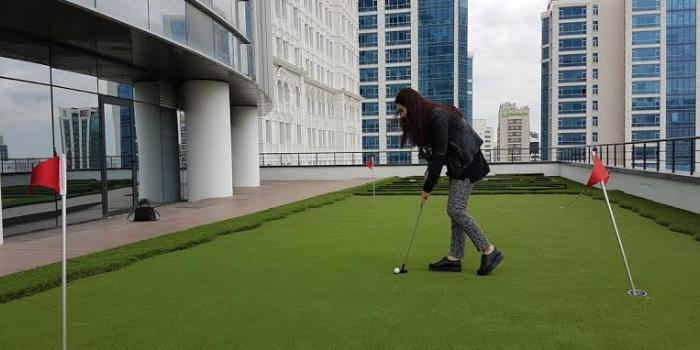 Ofislerde yükselen trend: ''Golf''