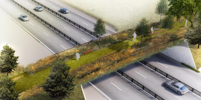 Taksim Gezi Parkı'na ekolojik yaya köprüsü