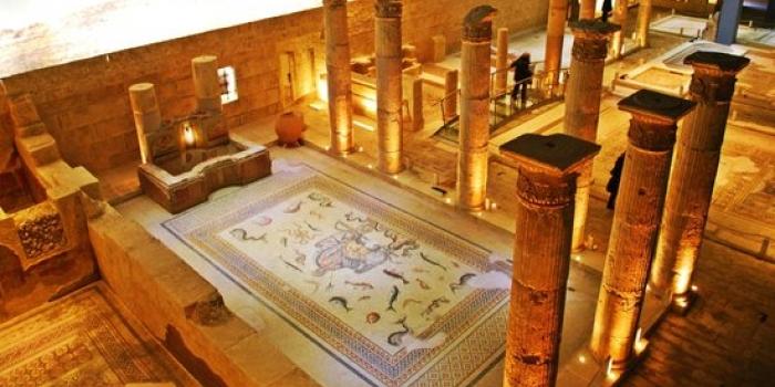 Zeugma Mozaik Müzesi'ni 3 günlük tatilde 7 bin 741 kişi ziyaret etti