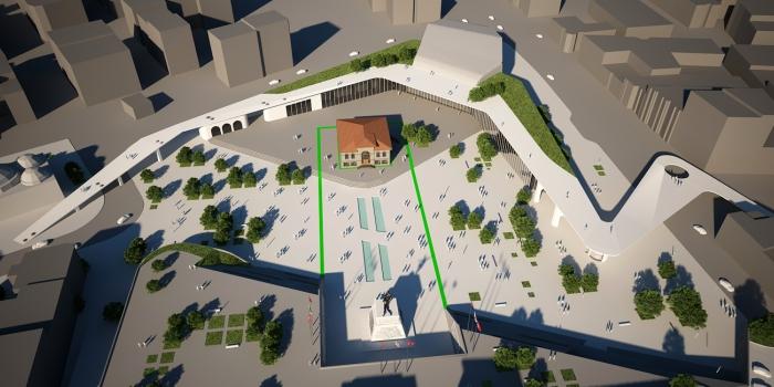 Afyonkarahisar Cumhuriyet Meydanı Projesi 5 Haziran'da ihaleye çıkıyor
