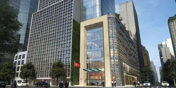 ABD'deki Türkevi Binası lale şeklinde olacak