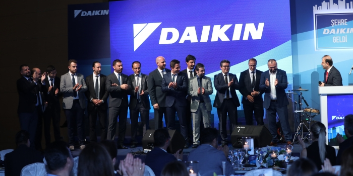 DAIKIN 5 yılda 5 kat büyüdü