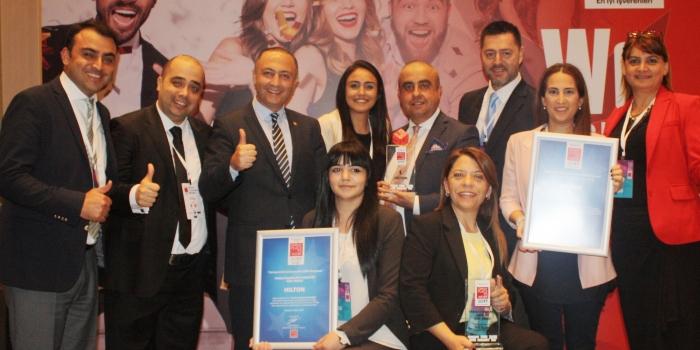Hilton üst üste ikinci kez en iyi işveren seçildi