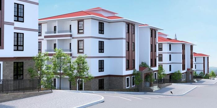 TOKİ'den Bayburt'a emekliler için 363 konut