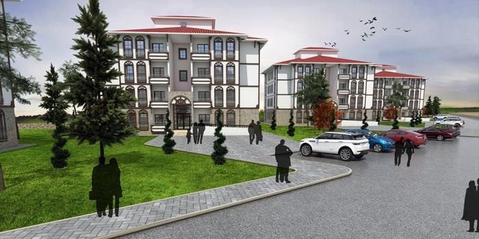 TOKİ'den Zonguldak Devrek Çaydeğirmeni'ne 427 konut