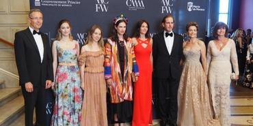 Türk doğal taşı Monte Carlo moda haftasına damga vurdu
