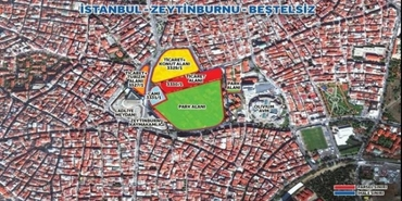 Zeytinburnu Beştelsiz arsasına en yüksek teklif Ağaoğlu'nun şirketinden geldi