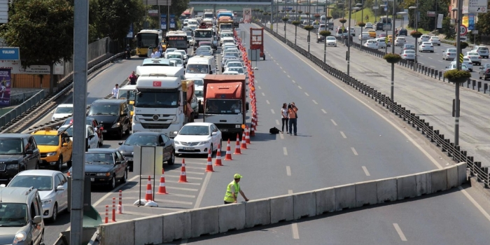 Köprü trafiği 31 Ağustos'a kadar aksayacak