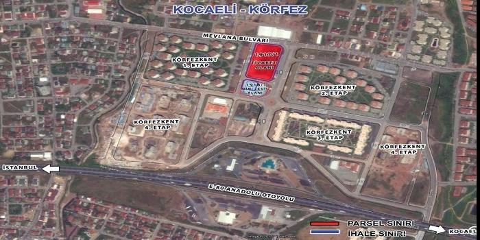 Emlak Konut Kocaeli Körfezkent ihalesi 29 Haziran'da!